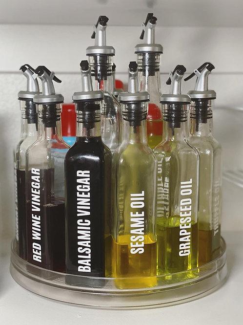 SET OF 10 SPICE JAR & OIL/VINEGAR LABELS