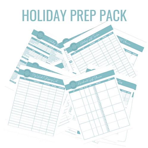 2020 Holiday Prep Printable Pack