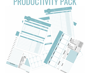 Productivity Printable Pack