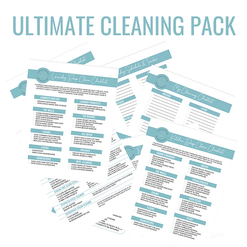 Ultimate Cleaning Printable Pack