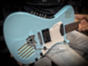 Baby Blue with V-Twin™ Tremolo