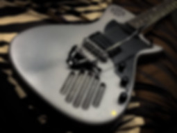Silver Guitarmadillo w V-Twin Tremolo
