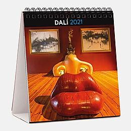 Calendario 2021 DALí 15x15 Sobremesa