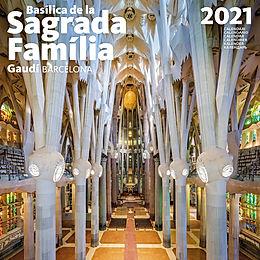 Calendario 2021 SAGRADA FAMILIA 30X30