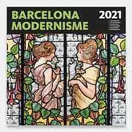 Calendario 2021 -BARCELONA-MODERNISME 30x30