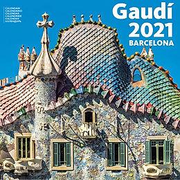 Calendario 2021 BARCELONA-GAUDI 30X30