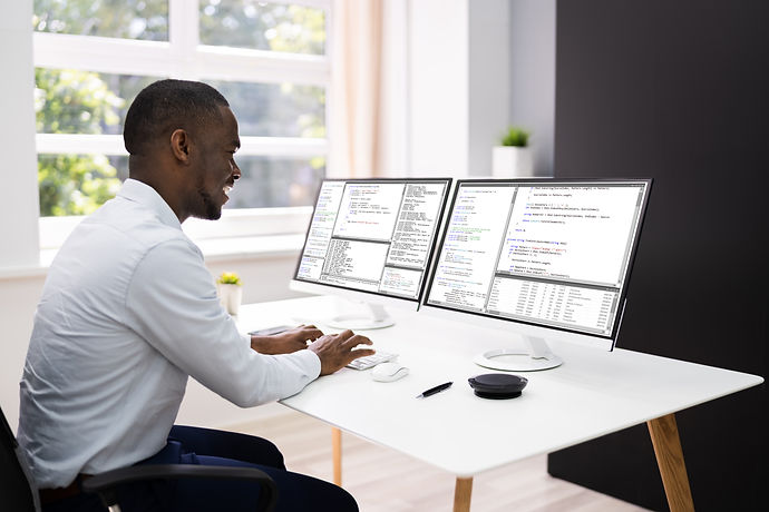 Work From Home On Multiple Computer Scre