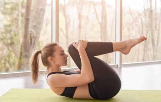 Yoga for Digestion pose 5 Pavanamuktasana