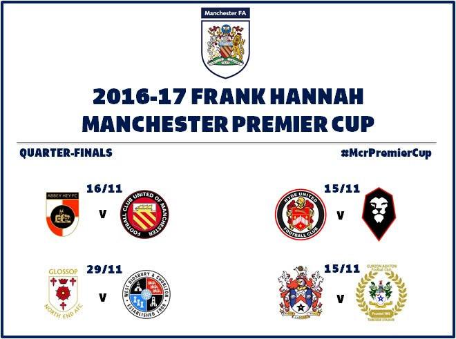 Ja tenim els quarts de final de la Manchester Premier Cup, amb les dates