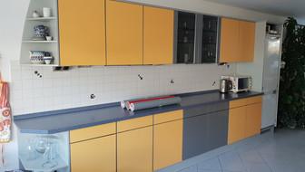 Küche vor der Folierung