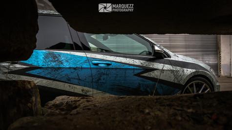 "VW Golf 7 R - Digitaldruck ""Thunder"""