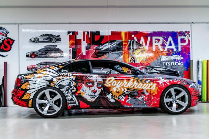 Audi S5 im La Catrina Look
