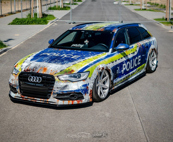 "Audi A6 Avant im ""Dirty Police"" Design"