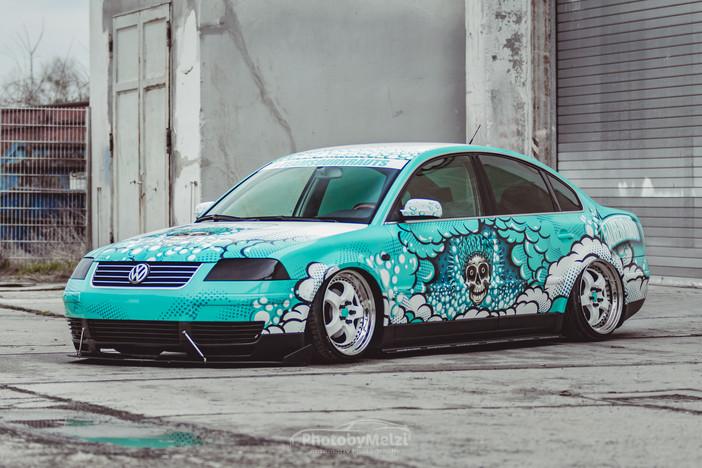 VW Passat / Sauberkraut Promotion Fahrzeug