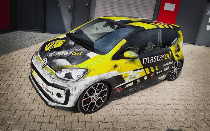 VW Up! GTI im Rennsport Design