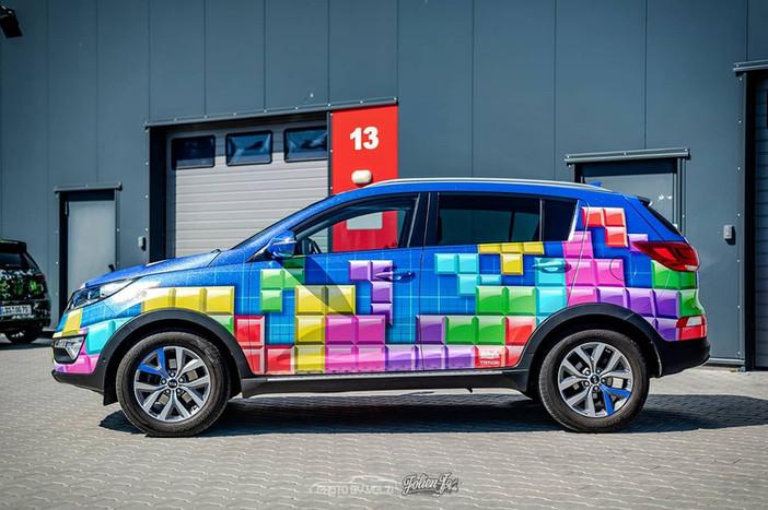 Kia Sorento im Tetris Style