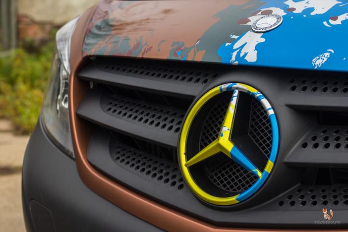 Mercedes Citan Vollfolierung / Digitaldruck