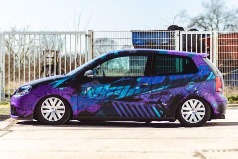 Folien-FX Digitaldruck Folierung VW