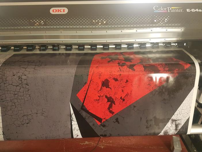Vorbereitungen für den Digitaldruck