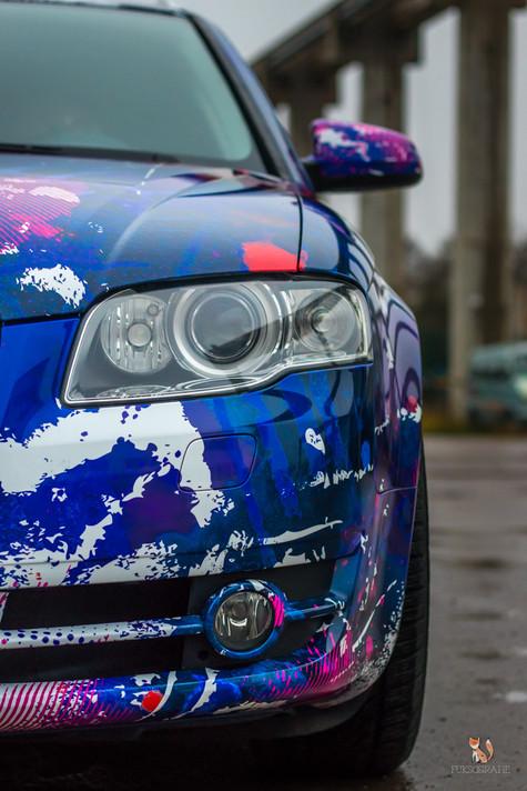 Audi A4 Digitaldruck
