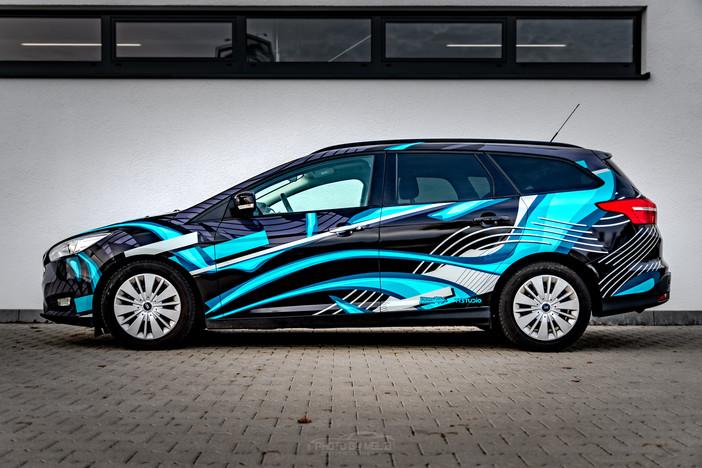 Ford Focus - Lines Design Digitaldruck