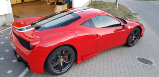LLumar Lackschutz Folie Ferrari