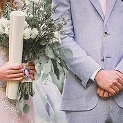 """A precious moment right before """"I do"""". ⠀"""
