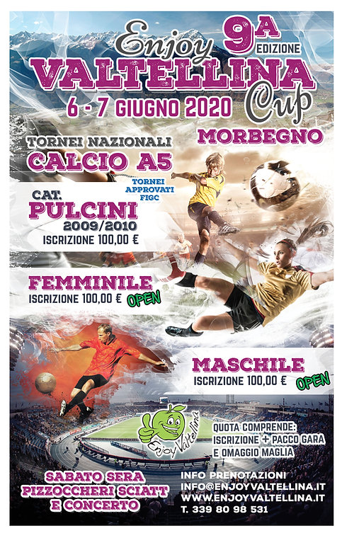 Torneo Enjoy Valtelina Cup 2020
