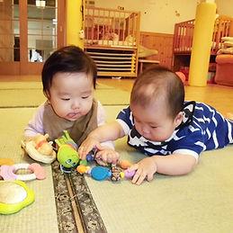 おひさま保育園:0〜1歳児保育イメージ