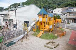 おひさま保育園:屋外遊具