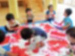 おひさま保育園:5歳児課題保育ピザ作りイメージ