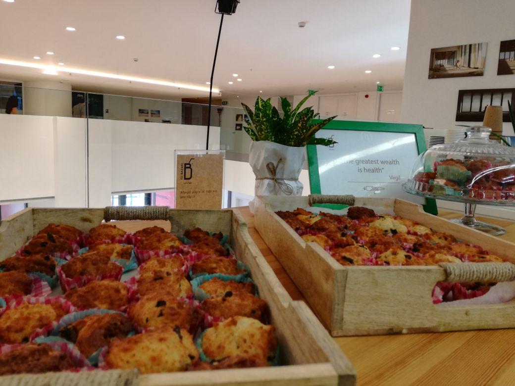 healthy savoury muffins