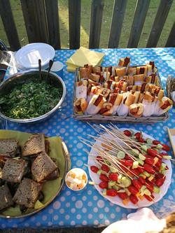 vegan hotdogs paidiko party