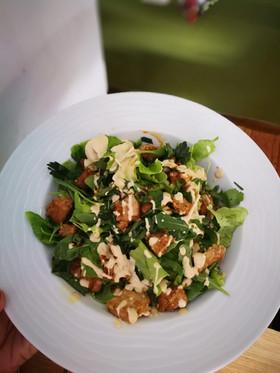 Ceasar's salad/macrobiotic dish