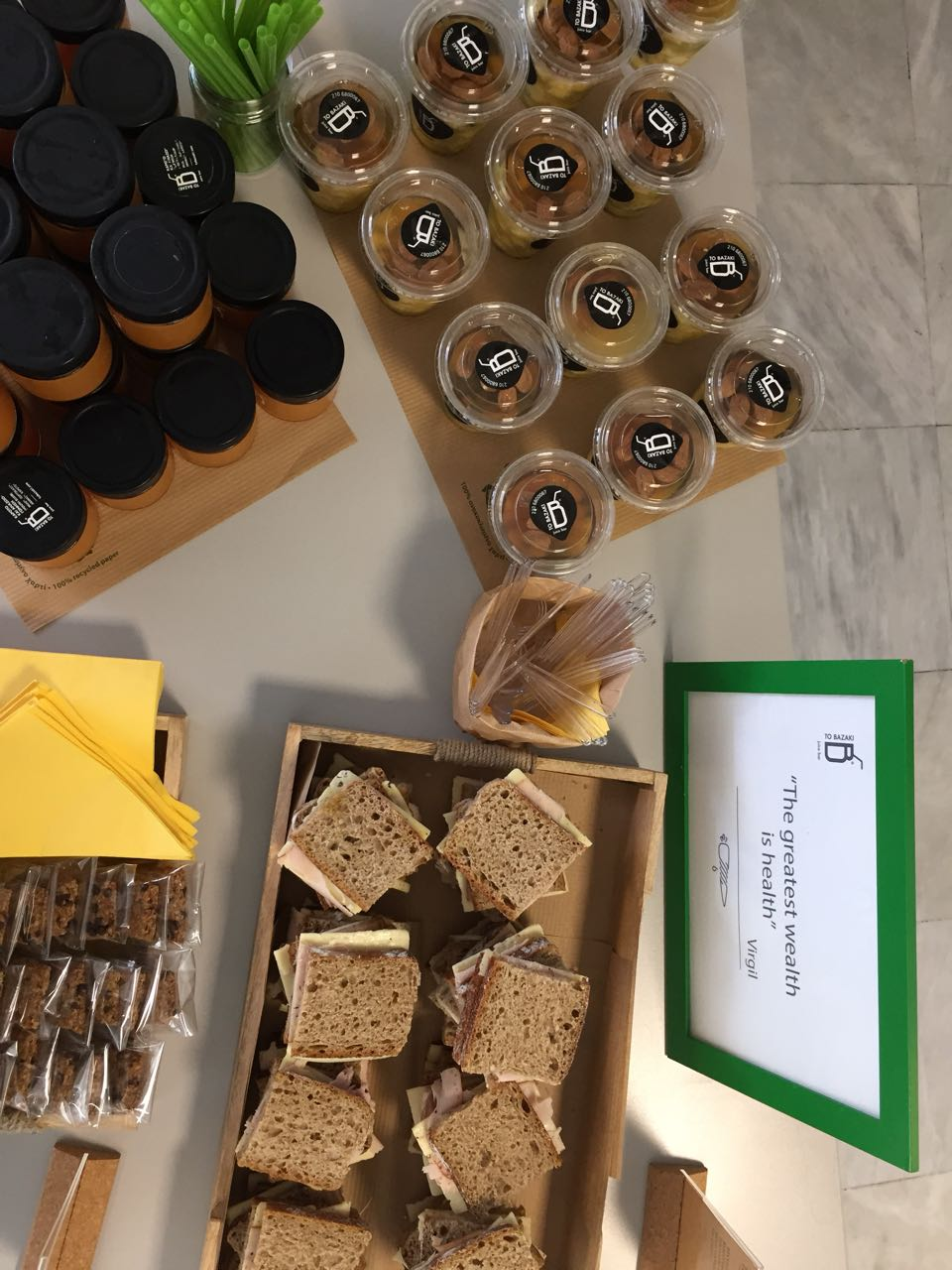 healthy catering at your office