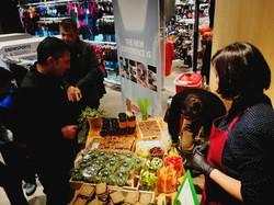 in the store healthy catering