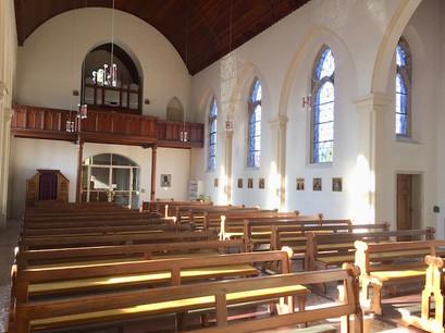 Gommern - Blick zur Orgel