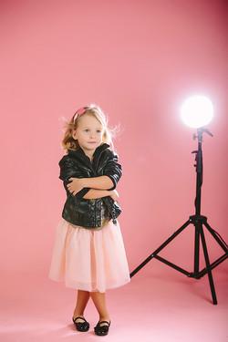 Bērnu fotosesija studijā