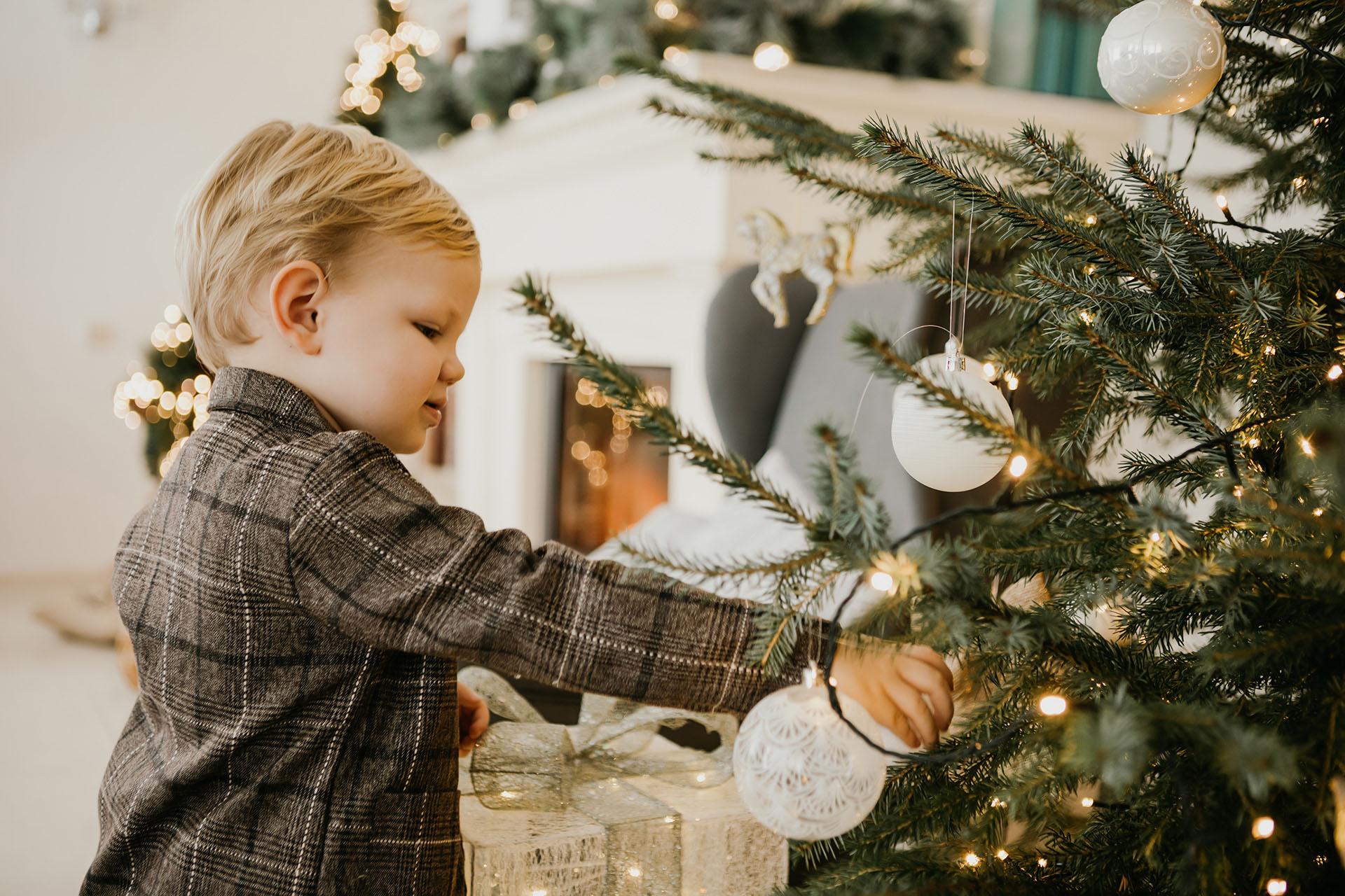 Ziemassvētku fotosesija