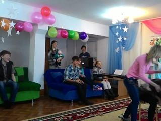 Поздравление с Новым годом ДД ДЮ «Акниет»