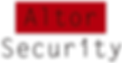Altor Security logo