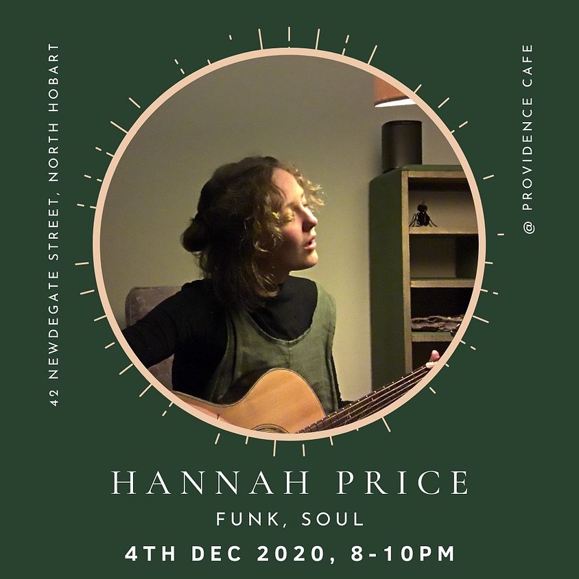FRIDAY NIGHT LIVE with Hanna Price
