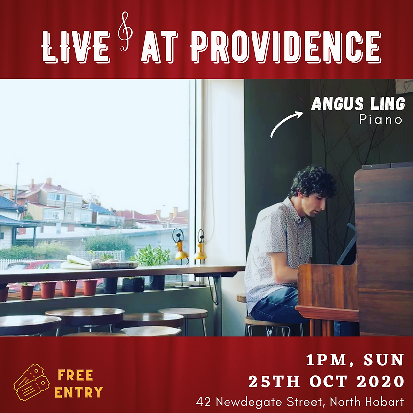 Sunday live piano session at Providence