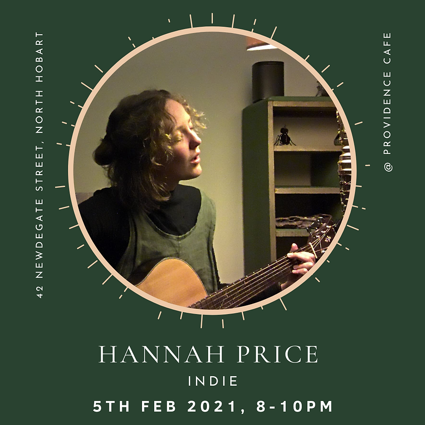 Friday Night Live with Hannah Price