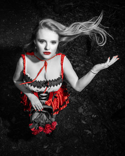Little Red Riding Hood Photoshoot - Kitsch Studio