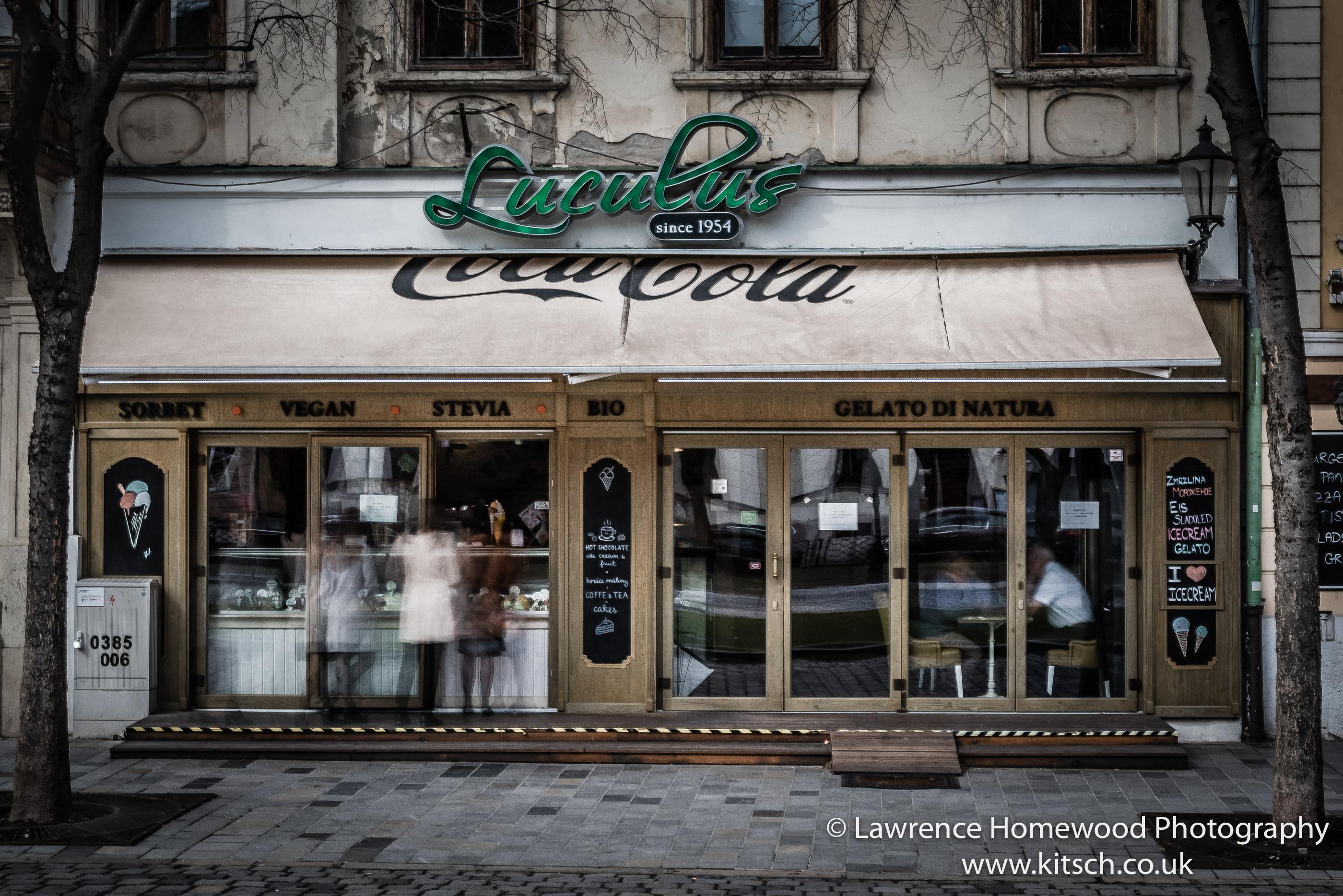 Bratislava Luculus since 1954