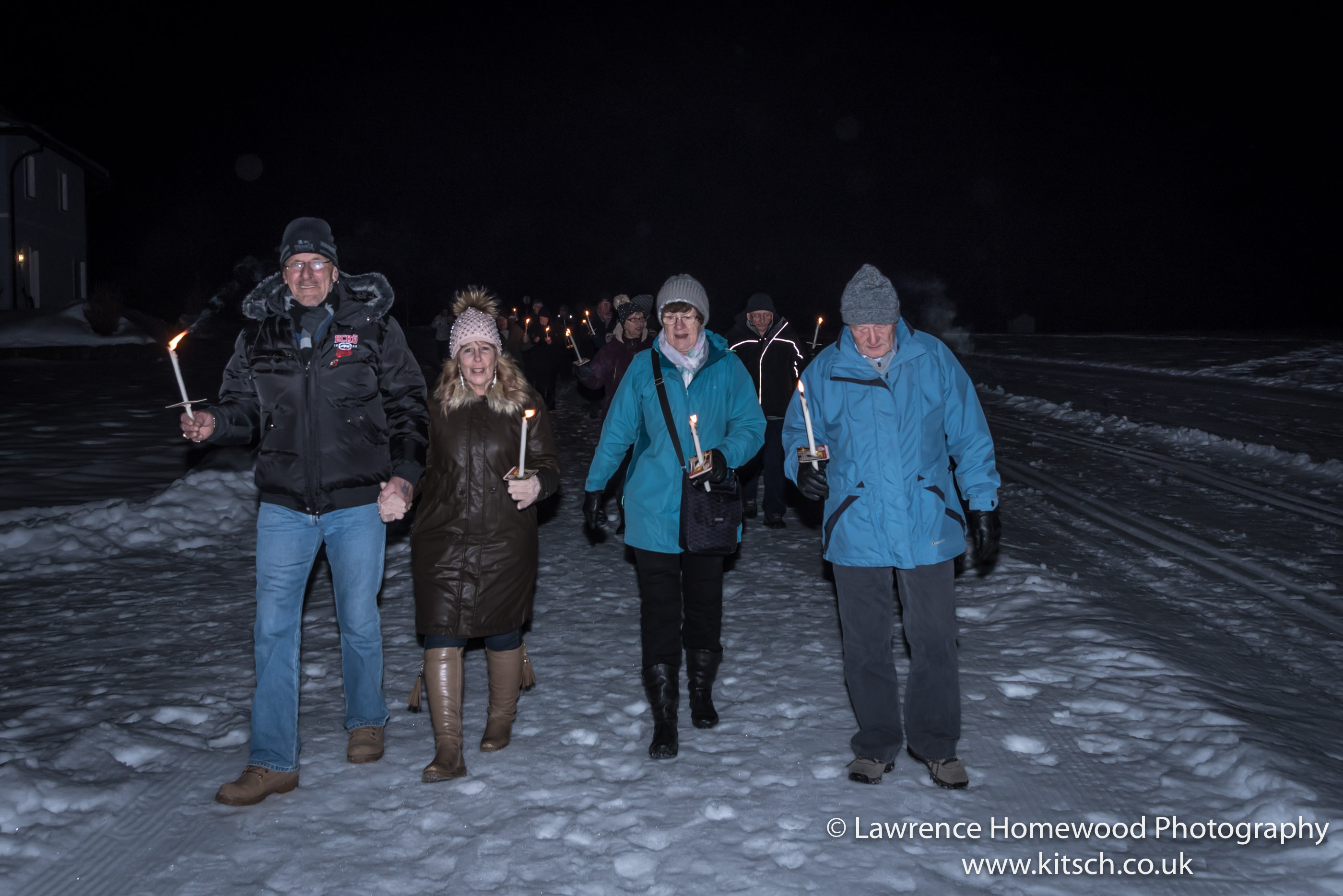 Candle Walk - The Group3