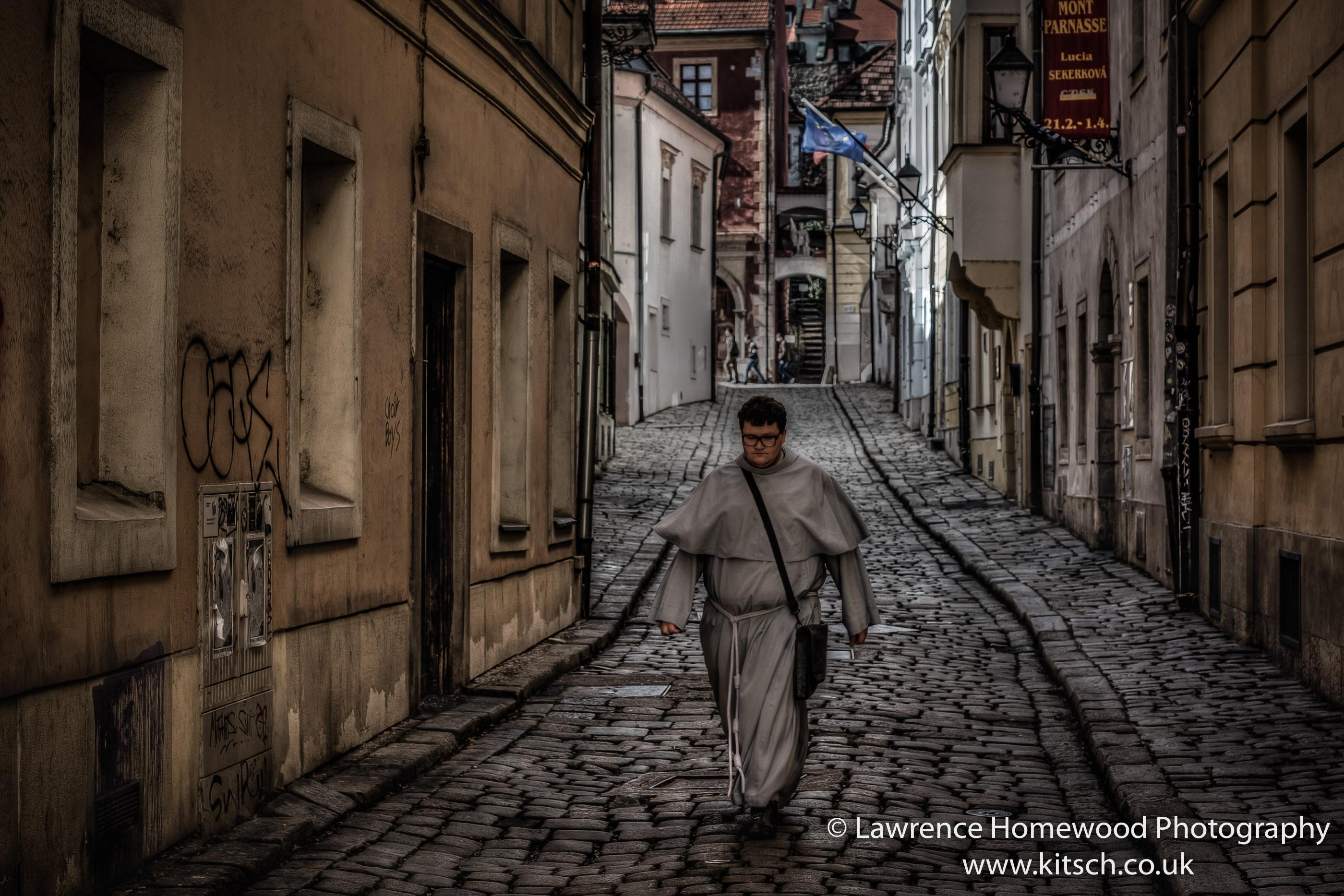 Man of God Noir Dark Streets