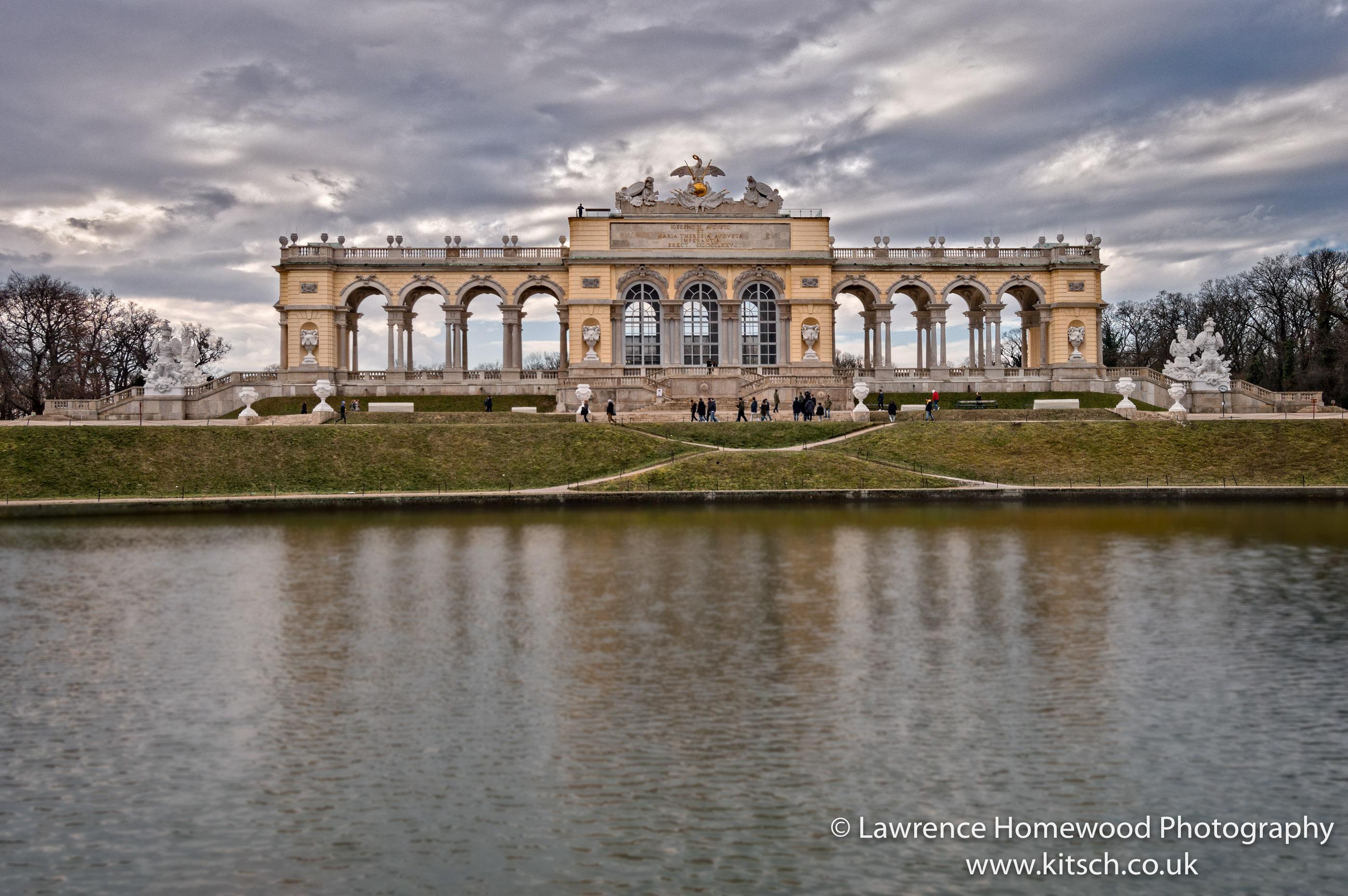 Schonbrunn Gardens Gloriette
