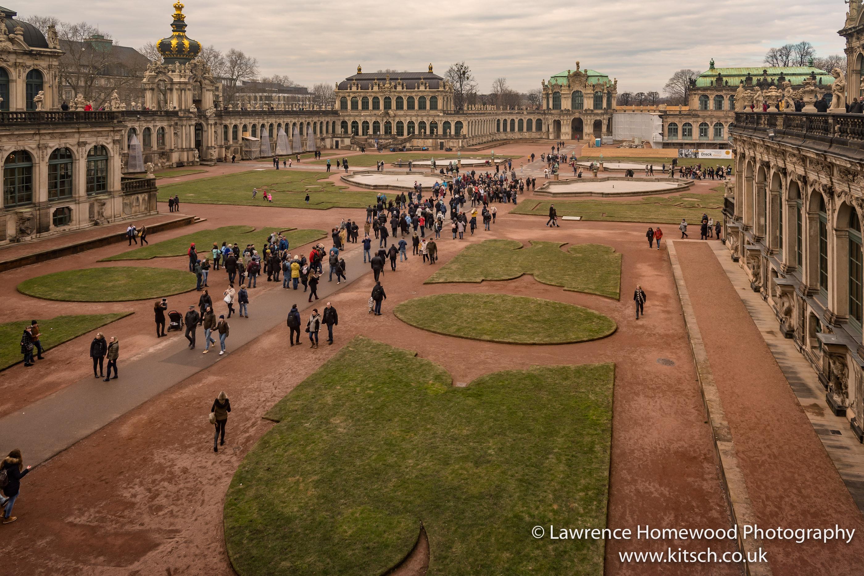Dresden Zwinger and Gardens